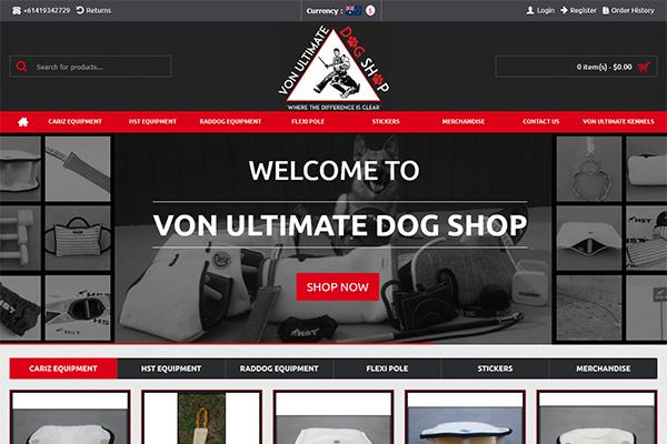 Von Ultimate Dog Shop
